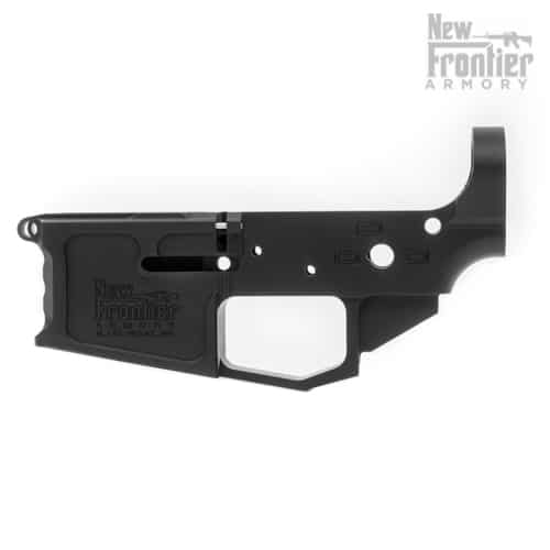 C-4 Stripped AR-15 Billet Lower - New Frontier Armory